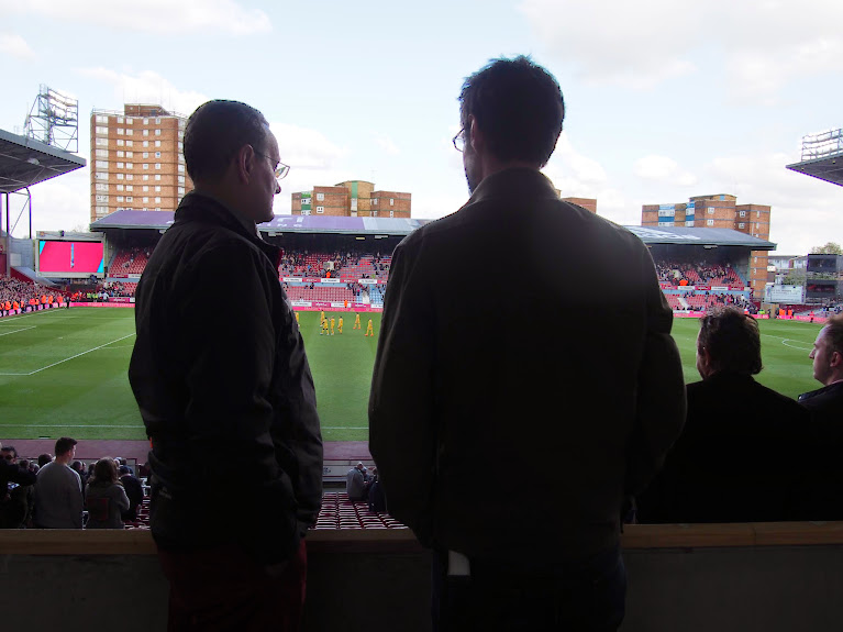 jon and stephen at west ham