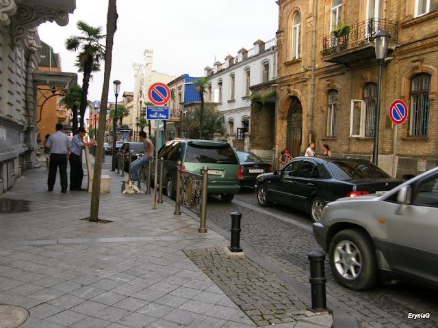 na drogach Gruzji