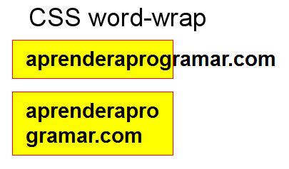 css word-wrap