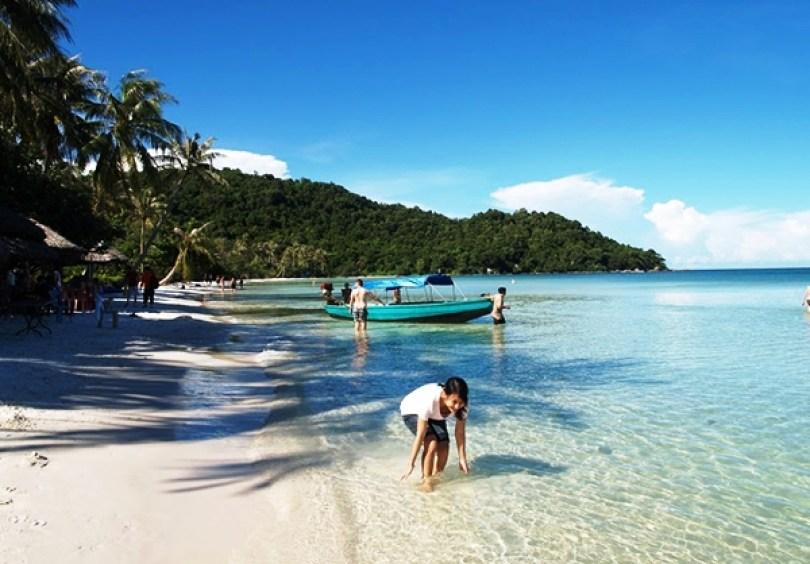 vui chơi bên Biển Nha Trang