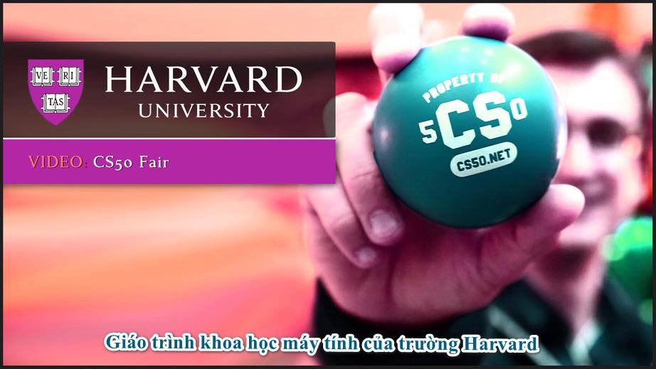 Giáo trình khoa học máy tính của trường Harvard