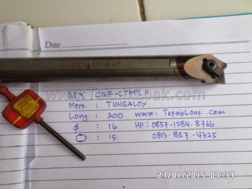 Holder Bubut Diameter Dalam Carbide C16R CTFP11 Merk TUNGALOY