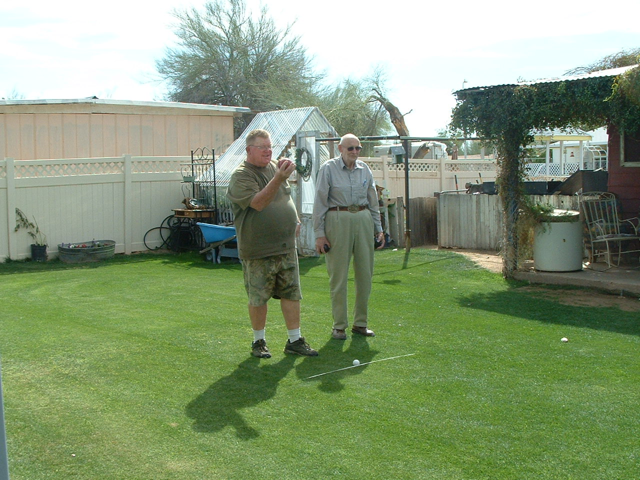 Bocce Ball Lawn Rules : Its a French yard game similiar to horse shoes,