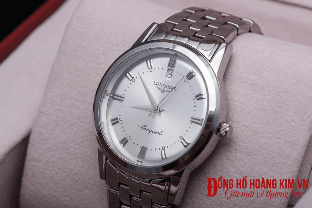 Địa chỉ bán những mẫu đồng hồ nam dây sắt đẹp nhất vịnh bắc bộ - 1