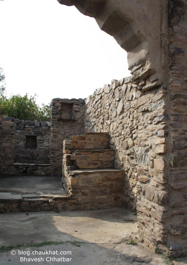 Bhangarh - Chudi Bazaar of Ghosts - Ruins