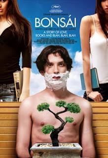 Filme Poster Bonsai – Uma História de Amor, Livros e blá, blá, blá DVDRip XviD & RMVB Dublado