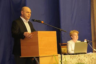 С приветственным словом выступает Глава города Ковров Кауров Виктор Романович