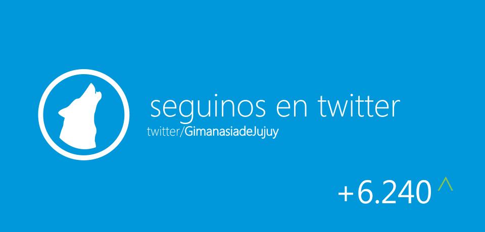 Gimnasia de Jujuy en Twitter