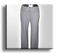 Pantalones elgantes para mujer, dotación para oficina.