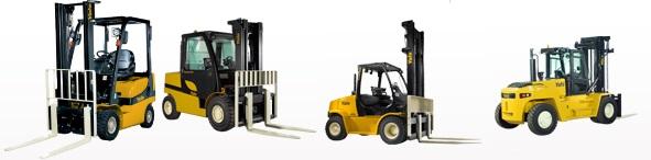 Xe nâng Yale Diesel Forklift
