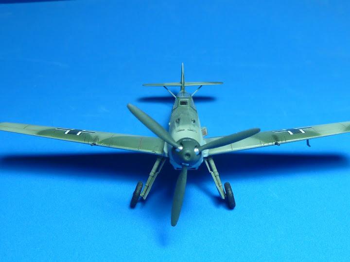 "Messerschmmit Bf 109 E-3 - Major Hans ""Assi"" Hahn P1040040"