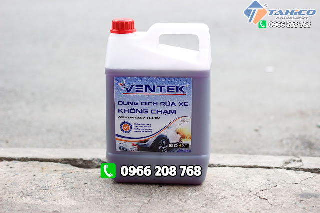 Dung dịch rửa xe không chạm Ventek VET70 5 lít