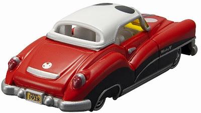 Chiếc Disney Motors DM-01 sẽ là món đồ chơi thú vị đối với các fan nhí của chuộ t Mickey