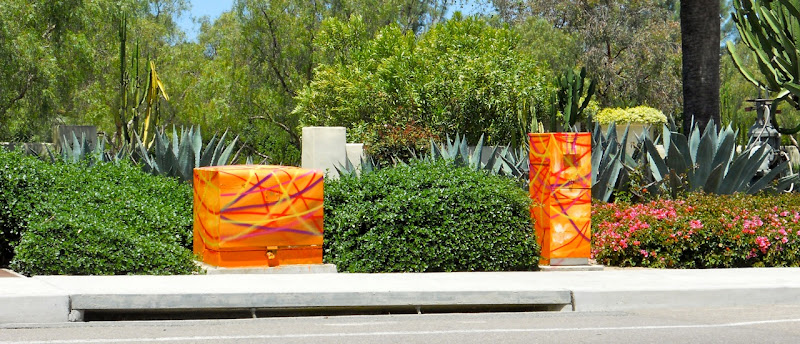 Victor Angelo Public Art Paintings Estancia La Jolla Hotel Resort