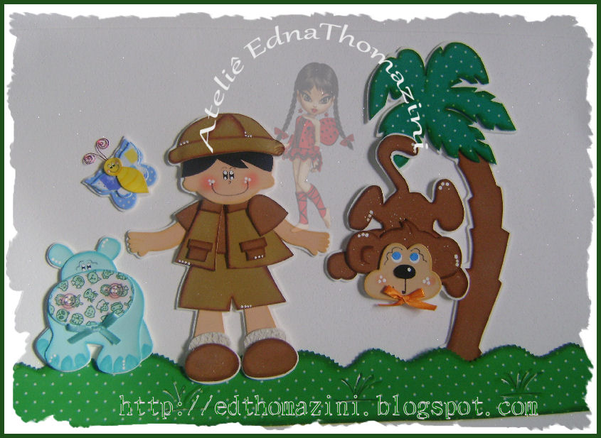 Decoracao De Quarto Infantil Selva ~ Decora??o quarto infantil Safari  Ateli? Edna Thomazini