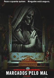 Filme Poster Atividade Paranormal: Marcados pelo Mal TS XviD & RMVB Dublado
