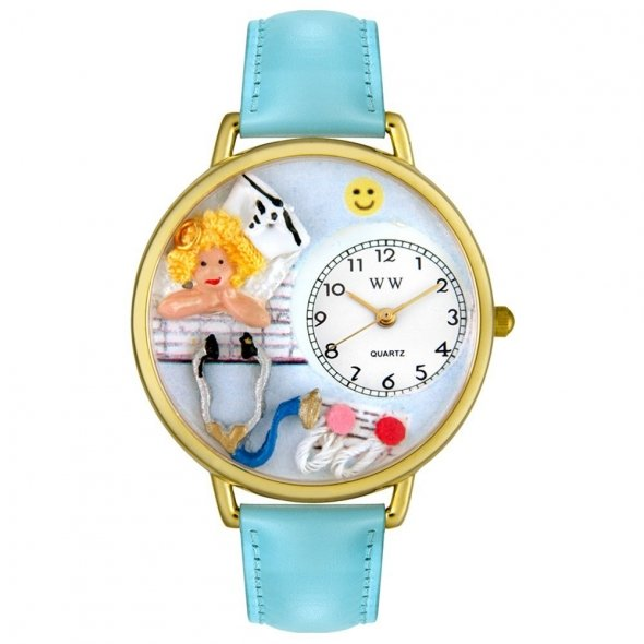 Whimsical Blue Watch