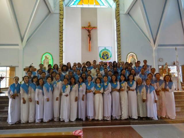 Ngày Hội Các Bà Mẹ Công Giáo Giáo Xứ Ba Ngòi.