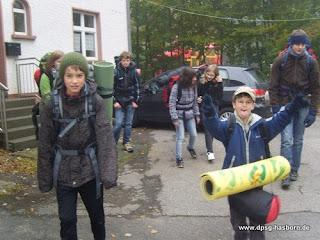 2010: Stammeshike im Herbst