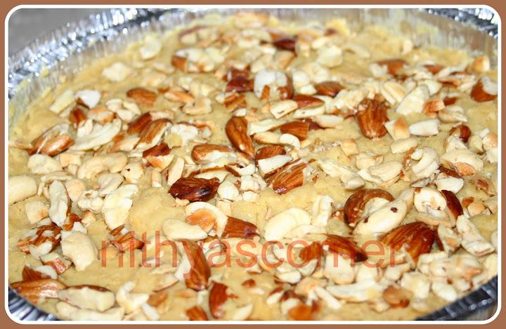 Gujarati Besan Flour Sweet