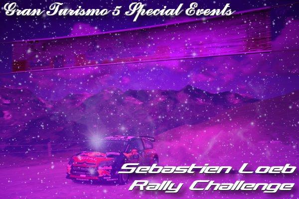 Gran Turismo 5 Sebastien Loeb Rally Challenge