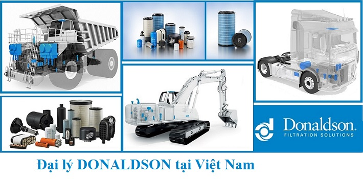 Đại lý lọc Donaldson USA tại Việt Nam: