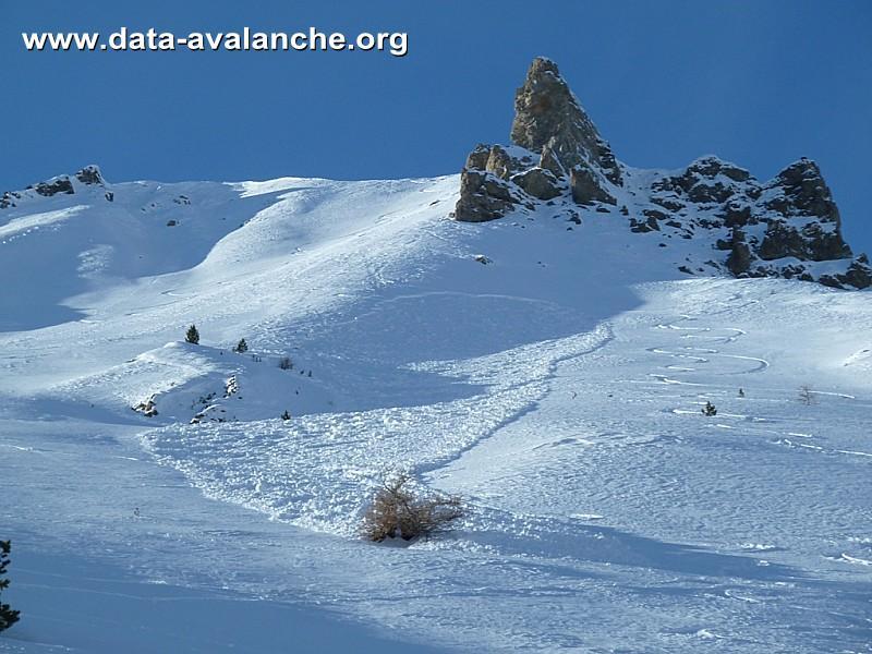 Avalanche Briançonnais, secteur L'Arpelin - Photo 1