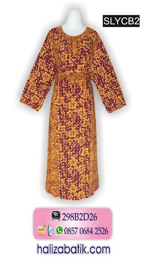 model baju batik wanita modern, model batik wanita, contoh baju batik wanita