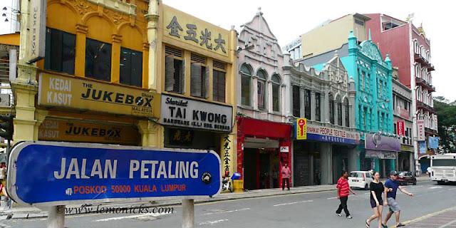 Kuala Lumpur Back Packing