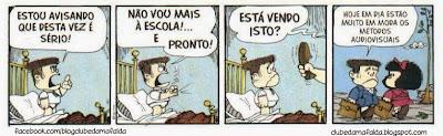 Clube da Mafalda:  Tirinha 741
