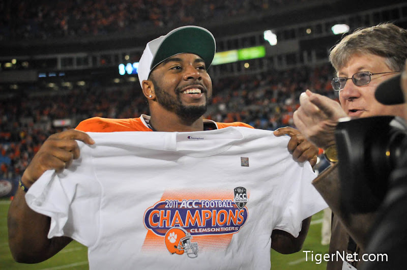 2011 ACC Championship Photos - 2011, ACC Championship, Celebration, Football, Tajh Boyd, Virginia Tech