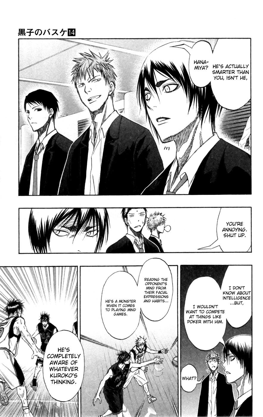 Kuroko no Basket Manga Chapter 126 - Image 15