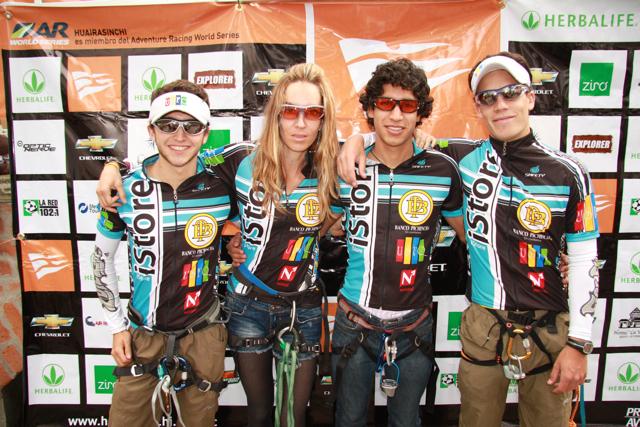 Una carrera para recordar... equipo USFQ vencedor en el HuairaSinchi 2011