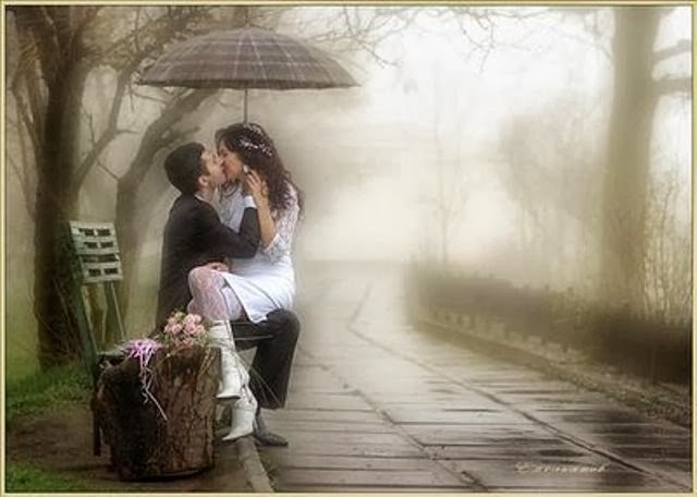 Kiss rain