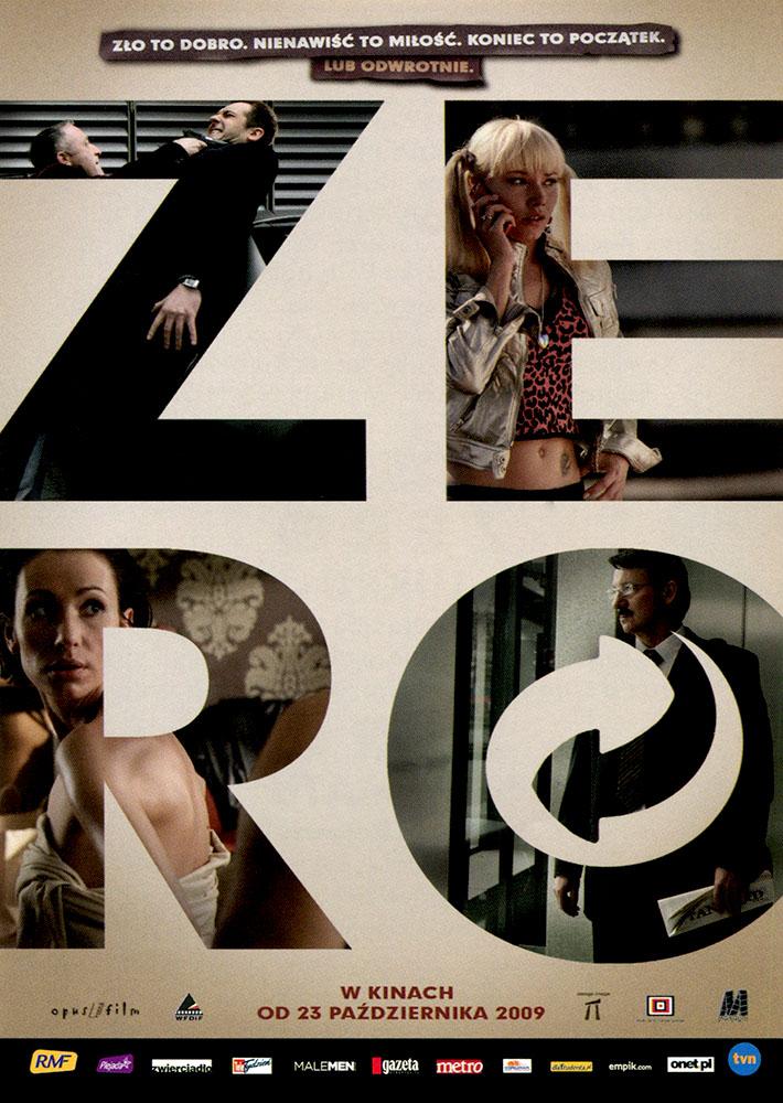 Ulotka filmu 'Zero (przód)'