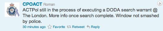 CPOACT Tweet