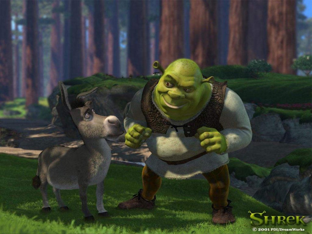 The Assian Style Shrek 2 Wallpapers Animated