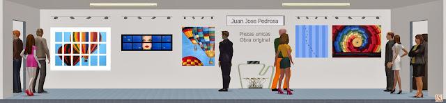 Sala de exposición virtual de pinturas de Juan José Pedrosa