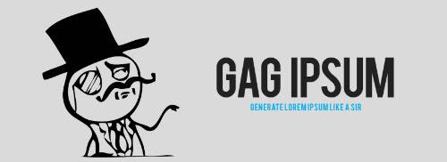 GAG Ipsum