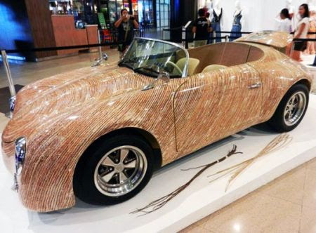 That's Cool! Una Cebu Car Crafted from Natural Materials by Clayton Tugonon !