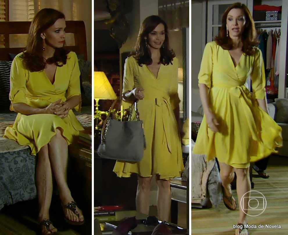 moda da novela Em Família - look da Helena dia 12 de maio