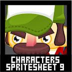 Redneck Character Spritesheet