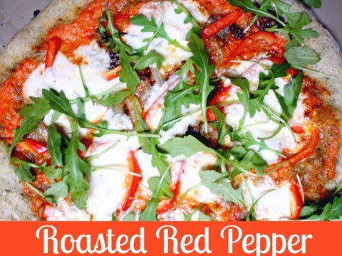 Roasted Red Pepper Pizza Sauce