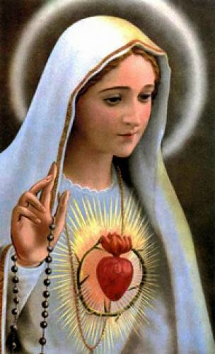 Memorial Of The Immaculate Heart Of Mary Today