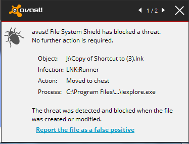 avast threat sound