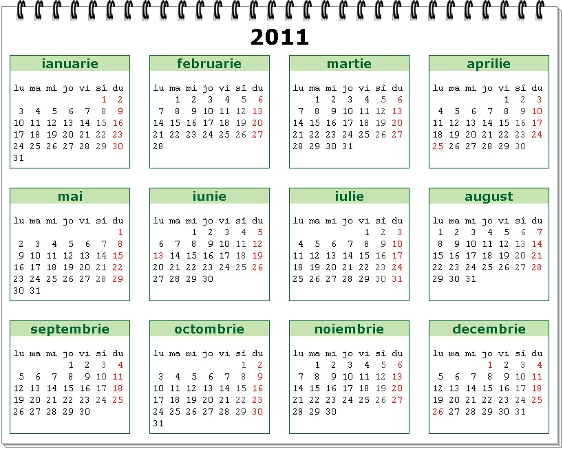 Have you laughed today ?: Calendar 2011 românesc