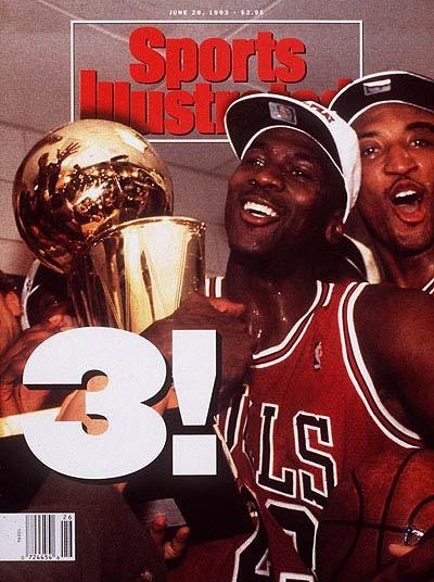 *Sports Illustrated:慶祝Michael Jordan 50歲生日封面特輯回顧! 9