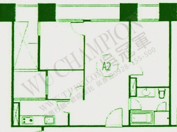 華固新綠洲格局A2分析