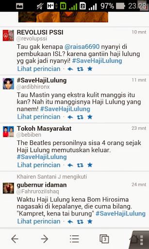 Twitter humor ttg haji Lulung