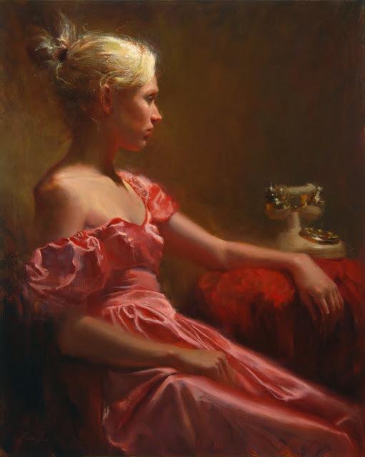 Zena na slikarskom platnu - Page 2 237-Hsin-Yao+Tseng_Waiting_30x24_Oil+on+Canvas